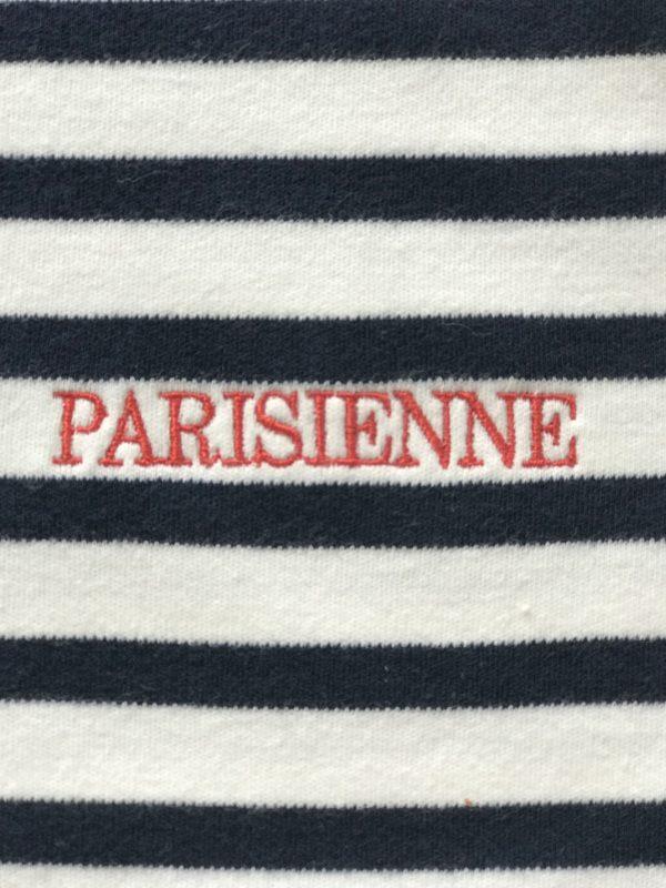 borduursel logo parisienn