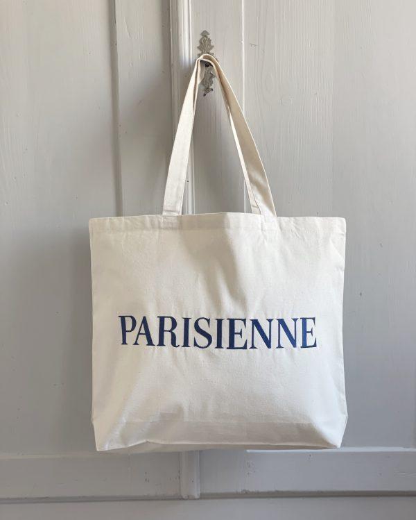 canvas tote bag parisienne