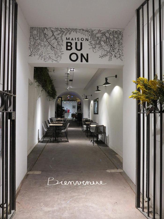 Hotspot Marseille maison Buon